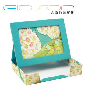 Memo Pad Paper Gift Packing Box with Photo Frame pictures & photos