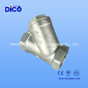 CF8/CF8m/CF3m Y Type Returen Check Valve pictures & photos