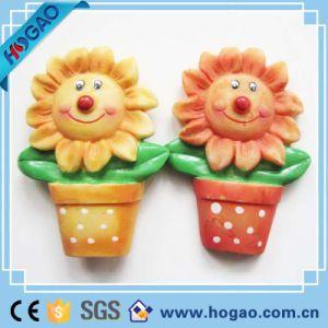Resin Fridge Magnet Sun Flowers pictures & photos