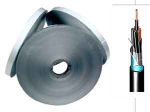Copper Color Printed Aluminum Laminated Foil Mylar Tape for Cable Insulation Film pictures & photos