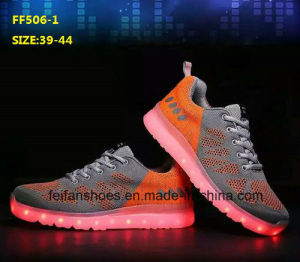 Latest High Quality Hot Selling LED Shoes Sport Shoes (FF506-5) pictures & photos