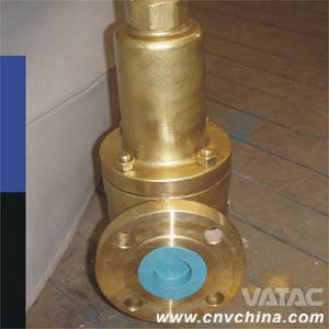 Bronze Safety Relief Valve with Flanged Ends pictures & photos