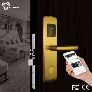 Wireless Zigbee Smart WiFi Door Lock Support Mobile Control pictures & photos