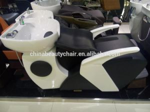 Cheap Backwash Units Black and White Shampoo Chair (MY-C024) pictures & photos