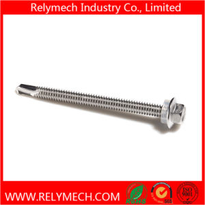 Self Drilling Screw Hex Flange Head Screw with Washer pictures & photos
