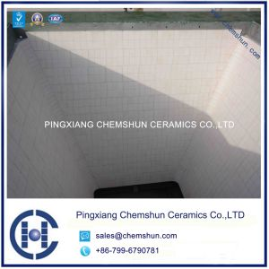 Wear Resistant Alumina Ceramic Lined Bunker & Hopper pictures & photos