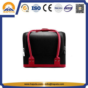Travel Set Leather Cosmetic Case for Outdoor (HB-6651) pictures & photos