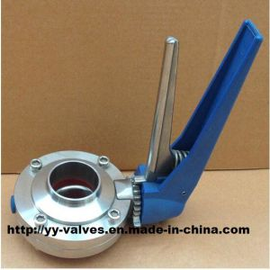 Sanitary Butterfly Valve for High Purity pictures & photos