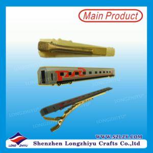 Wholesale Bronze Train Tie Clip Printed Your Logo pictures & photos
