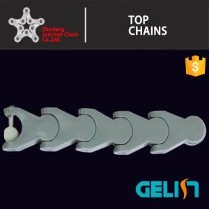 1702 1702m POM Hinged Conveyor Chain/Conveyor Case Chain/Crate Conveyor Chain pictures & photos