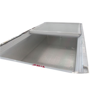 76kg Sliding Glass Door Front Clear Seafood Freezer pictures & photos