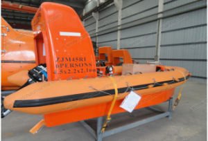 Open Type High Speed Rigid Hull Inflatable Fender Rescue Boat pictures & photos