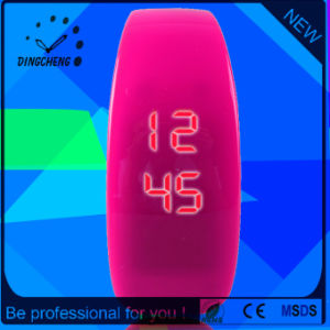 Sports Wrist Silicone Digital LED Digital Electronic Wrist Watch (DC-1103) pictures & photos