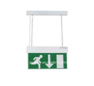 Maintained Double Sided LED Emergency Exit Sign with Legends Ke34bl pictures & photos