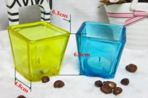 Free Sample Square Shape Candlestick for Home Decoration pictures & photos