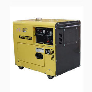 5.5kVA Three Phase Silent Type Portable Generators (ZDE6500T3) pictures & photos