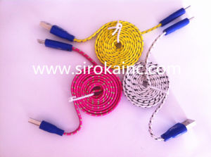 Wholesale Colorful Retractable Micro USB Cable pictures & photos