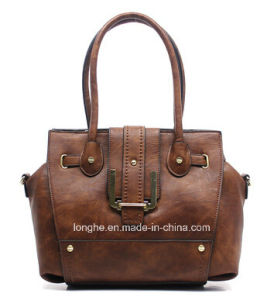Hot High Quality Rivet Fashion Ladies Leather Handbags pictures & photos