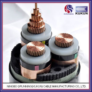 8.7/15kv Cu/XLPE/PVC (or PE) Power Cable