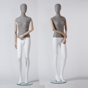 Yazi Fabric Wrapped Female Mannequin From Guangzhou pictures & photos