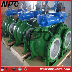 API 6D Metal to Metal Seat Trunnion Ball Valve pictures & photos