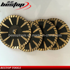 T Segmented Turbo Cutting Disc Concave Saw Blade pictures & photos