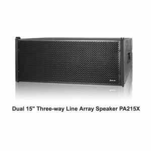 "China PA215X PA Audio Dual 15"" Line Array Speaker pictures & photos"