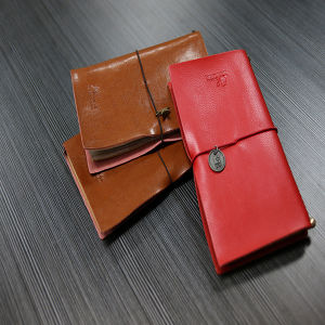 PU Leather Notebook with Rubber Band pictures & photos