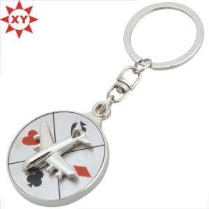3D Engraved Mould Metal Keychain Ring pictures & photos