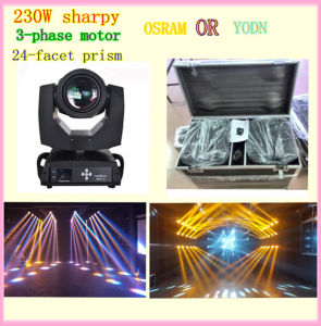 Clay Paky Sharpy 7r 230W Beam Light for Wedding Parties pictures & photos