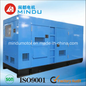 300kVA Cummins Diesel Generator Set Low Noise and Fuel Consumption