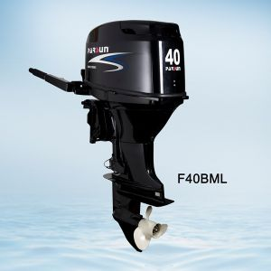 40HP 4-Stroke Outboard Engine / Manual Start / Long Shaft / Manual Tilt pictures & photos