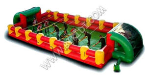 Football Field, Inflatable Water Soap Football Pitch with Cheap Price Inflatable Adult Game B6077 pictures & photos
