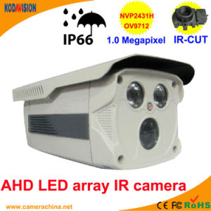 60m LED Array IR 1.0 Megapixel Ahd Camera pictures & photos