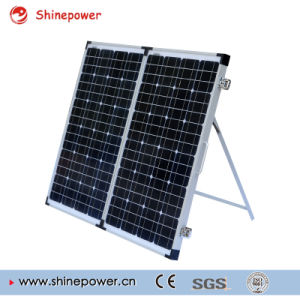 170W Portable Folding Solar Panel Kits for Camping. pictures & photos
