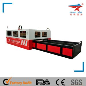 500W Fiber Laser Cutting Machine for Carbon Steel Cutting pictures & photos