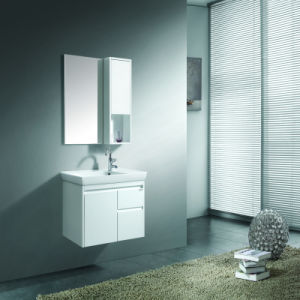 Pure White Wall Mounted Vanity with Bath Mirror