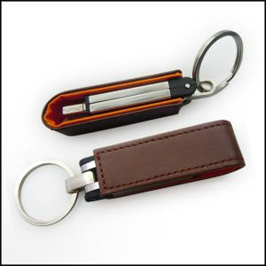 Leather USB 16GB for Promotional Gift pictures & photos