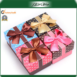 Fashion Recycled Paper Rigid Cardboard Gift Jewellery Box pictures & photos