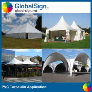680GSM Waterproof PVC Coated Tent Tarpaulin pictures & photos