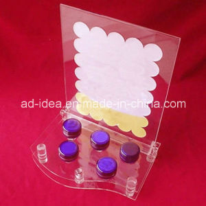 Desktop Acrylic Display Stand / Exhibition for Cosmetic pictures & photos