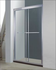 Bathroom 8mm Glass Double Sliding Door Shower Enclosure (BA920) pictures & photos
