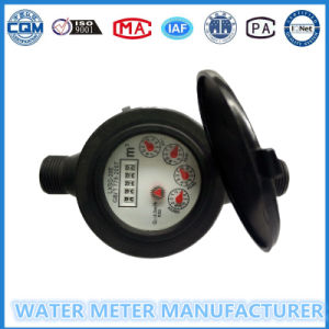 """1/2""-""3/4"" Nylon Plastic Multi-Jet Dry Dial Type Water Meter pictures & photos"
