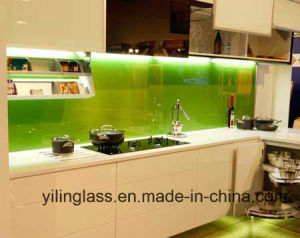 6mm Color Ceramic Fritted Splashback Glass with SGCC Ce Certificate pictures & photos