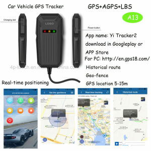 Car/Motorcycle/Vehicle GPS Tracker Support SIM Card (A13) pictures & photos