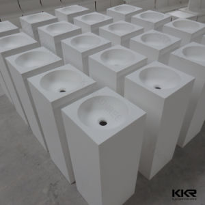 Custom Made Resin Stone Corian Wash Basin Sink pictures & photos