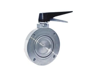 Manual High Vacuum Butterfly Valve pictures & photos