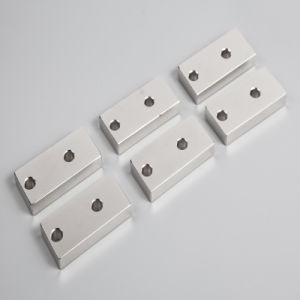 Custom Size Permanent NdFeB Neodymium Block Magnet pictures & photos