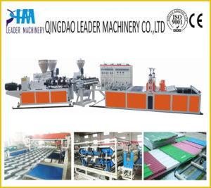 PVC PP Wave Corrugated Sheet Extrusion Machine pictures & photos