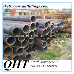 No- Secondary Round Hollow Section Shape Q235B Steel Seamless Pipe pictures & photos
